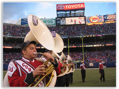 Tubas at NY Giants game